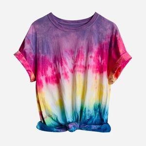 Rainbow Tie Dye TShirt
